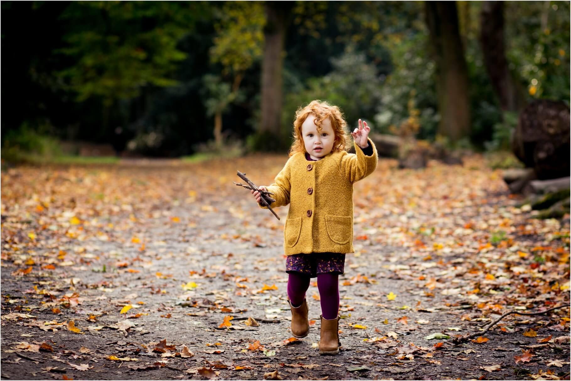 Autumn Photoshoot Towneley Park