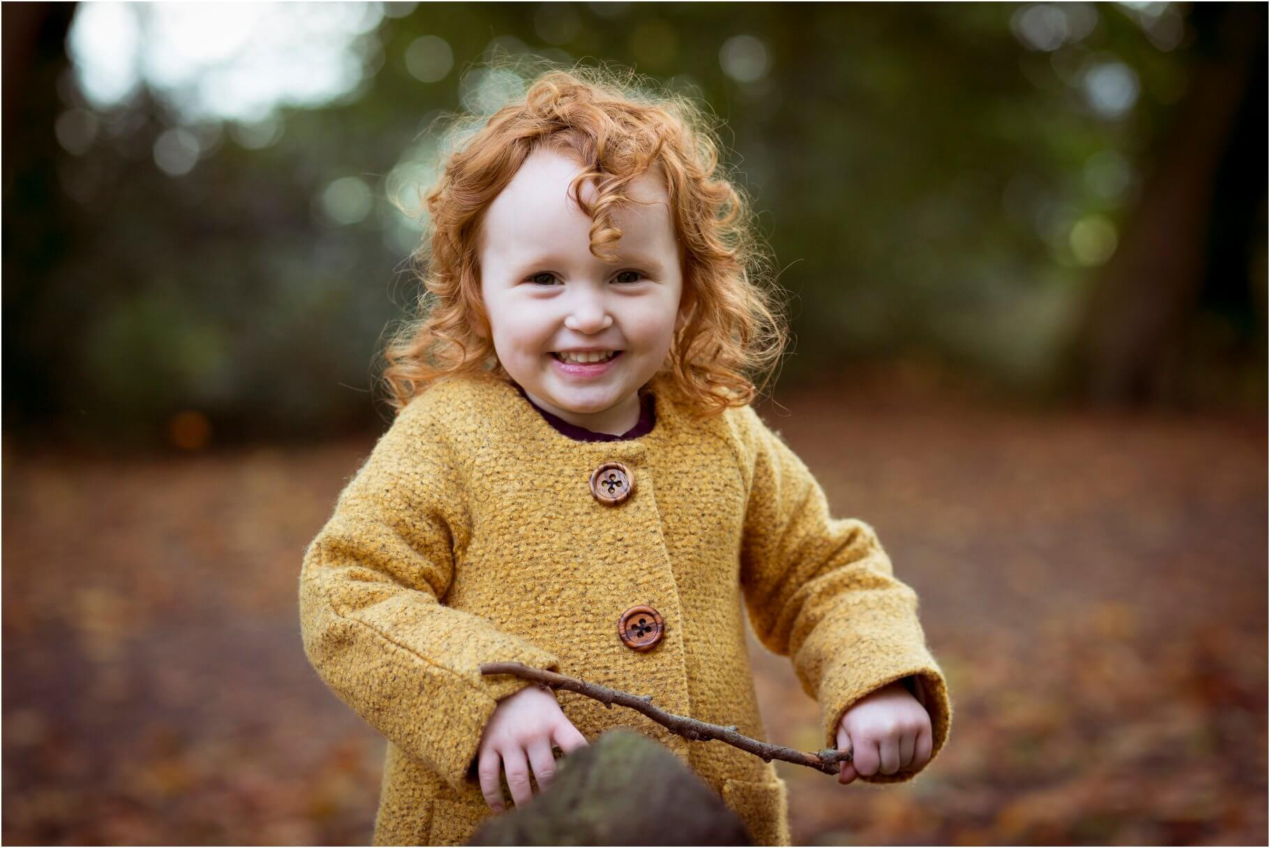 Autumn Photo Shoot Children's Photographer in Lancashire