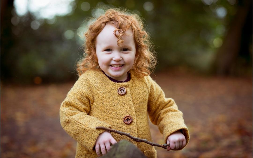 Matilda's Autumn Photoshoot At Towneley Park