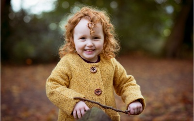 Matilda's Autumn Photoshoot At Towneley Park