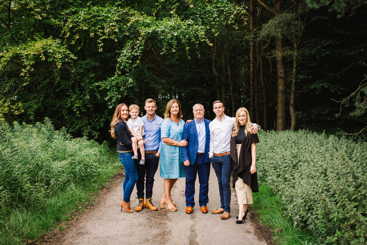 Hurstwood worsthorne family photography