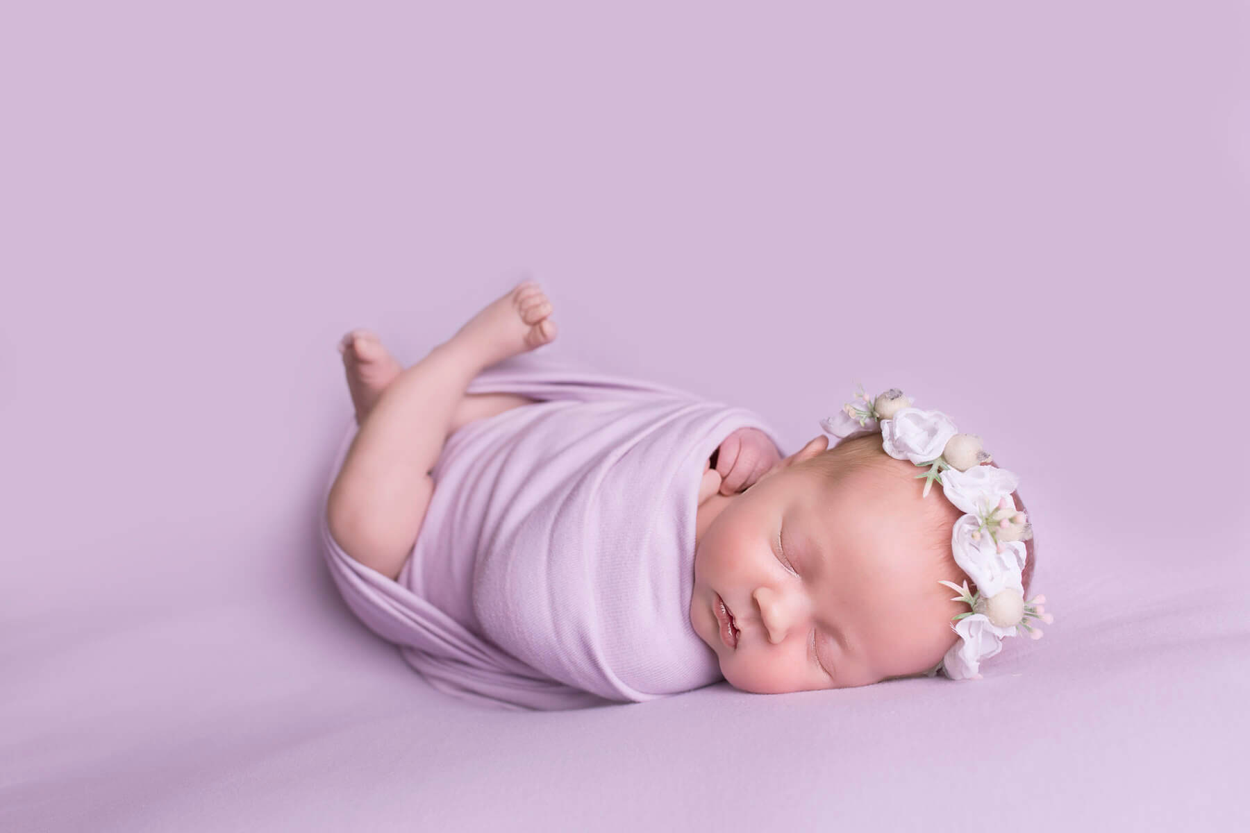 Newborn baby photography in colne